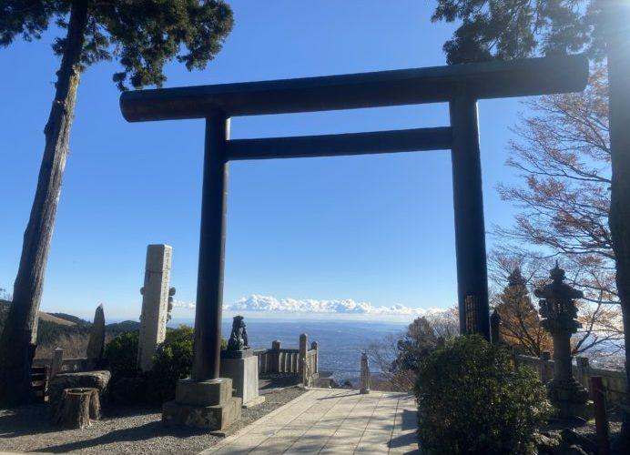 【御朱印】絶景の大山阿夫利神社と天空カフェ~神奈川県伊勢原市